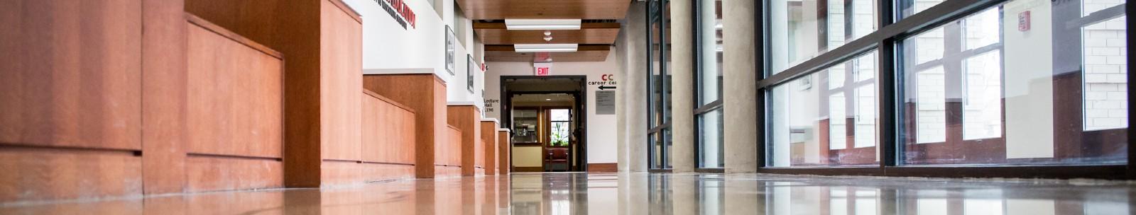 hallway in the uw madison education building