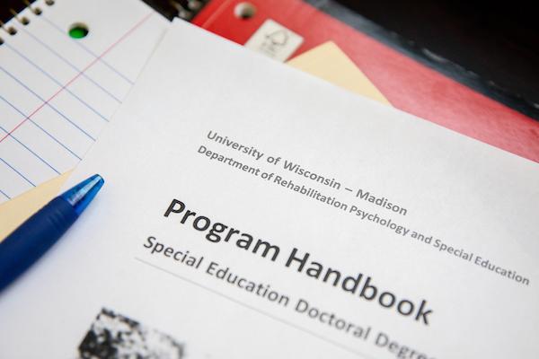 forms saying program handbook